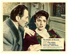 The Brides of Dracula Hammer original lobby card Peter Cushing Yvonne Monlaur
