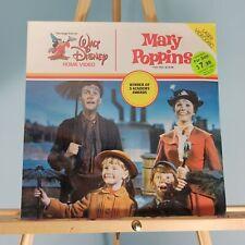Mary Poppins Laserdisc Walt Disney Home Video Julie Andrews Dick Van Dyke