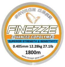SAVAGE GEAR FINEZZE ADVANCED COPOLYMER 1800M MONO LINE BOAT BEACH SEA FISHING