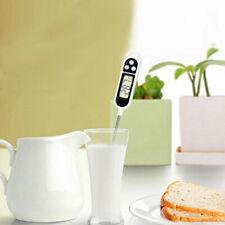 Digital Lebensmittel Thermometer Cook Sonde Küche BBQ Speise X2S7 W4H6