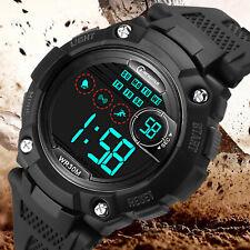 Children Kids Waterproof LED Digital Sports Watches Date Alarm Wrist Watch Gift