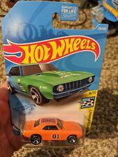 69 copo Camaro hot Wheels dukes of Hazzard general Lee custom..   ,