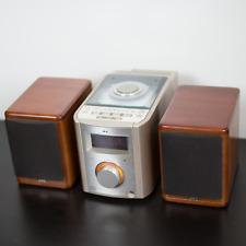 JVC FS-7000 Ultra Compact Stereo System Bookshelf Speakers