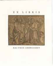 ANONYM: Exlibris für Kaj Friis Andreassen