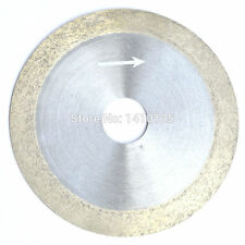 """4"""" inch 100 mm x 20 mm x 1 mm Diamond Continuous Rim Saw Glass Wet Cutting"""