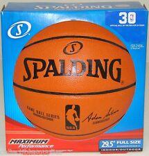 NEW SPALDING REPLICA NBA OFFICIAL SIZE BASKETBALL