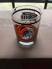 "1989 Super Bowl ""Brand-New"" Vintage Cincinnati Bengals Tumbler Glasses Case Lot"