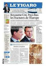 Le Figaro 15.3.2017 N°22580*FILLON garde le cap?**UK & PAYS-BAS fractures EUROPE