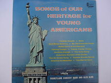 Disneyland Concert Band & Glee Club– Songs...America LP