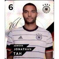 REWE DFB EM 20 Glitzer Karte Nr. 6 Jonathan Tah EUROPAMEISTERSCHAFT 2020