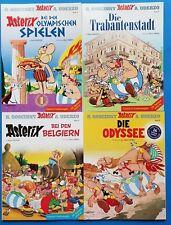 Comics Asterix & Obelix Sammlung Bände 12,17,24,26  l. Sonderausgaben ungel. 1A