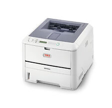 OKI B430D B430 A4 Mono Duplex USB Parallel Desktop Fast Laser Printer + Warranty