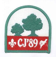 1989 Canada Scout Jamboree - OFFICIAL PARTICIPANTS SCOUTS Patch