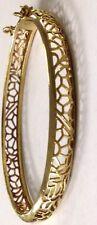 VINTAGE FILARGE STER SILVER/GOLD VERINEI COLORED BANGLE BRACELET