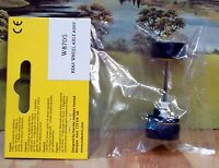 SCALEXTRIC 1/32 SCALE W8705 REAR WHEEL AXLE ASSEMBLY, YELLOW HUBS, NEW, X 5