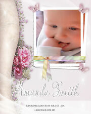 CHILDREN BABY BIRTH ANNOUNCEMENTS BACKGROUNDS TEMPLATES PSD PHOTOSHOP