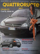 Quattroruote 546 2001 - test Alfa Romeo 147 diesel 5 porte -    [Q35]