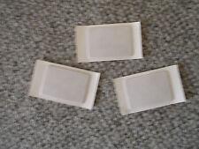3 x Ersatz Klebeplättchen  für Navi / Antennen Ford Innenspiegel