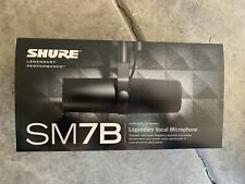 Shure SM7B Legendary Vocal Microphone