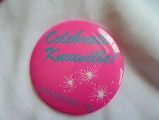 Vintage 1991 Celebrate Knoxville Tn Countdown New Years Eve Festival Pinback