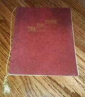 "THE TOP FLOOR RESTAURANT vintage 1970s Menu ANTIQUE OLD ""LES AND LARRY"" original"