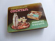 Huntley & Palmers UK,  COCKTAIL Art Déco um 1950, TOP! Biscuit Dose Art Déco
