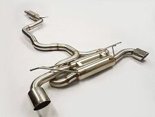 Becker Catback Exhaust For 2010 2011 2012 2013 2014 VW GTi MK7 2.0L Turbocharged