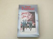 JULES E JIM - FRANCOIS TRUFFAUT - VHS - PAL - BUONE CONDIZ.V30