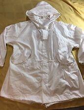 NEW w/o Tags US Military Snow Camouflage White Camo Winter PARKA Jacket Coat Lg