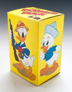 ALTE Pappschachtel Donald Duck wohl um 1960