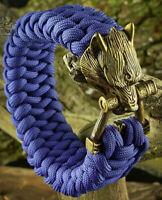 Wolf Bracelet Paracord Men's Norse Bracelet Bronze German silver Buckle Bracelet