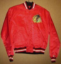 Chicago Blackhawks Red Snap Front Size Starter Size Large Nhl Jacket