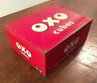 Collectable c1955 Vintage Oxo Tin 24 x 6's