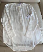NWT! Equipment Button Blouse Chevron Long Sleeve Size XS Retail $350