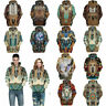 Dress Men Print Casual Indian Pullover Sweatshirt Shirt 3D Hoodie Hooded Sweater