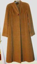 $600 CINZIA ROCCA  BROWN Cashmere Wool Coat Women's Sz 4 ITALY