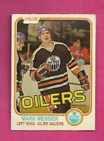 1981-82 OPC # 118 OILERS MARK MESSIER 2ND YEAR EX+ CARD (INV# C8077)