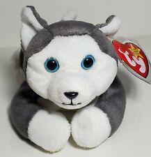 "Ty Beanie Babies ""Nanook"" Siberian Husky Dog - Mwmts! Retired! Great Gift! New!"
