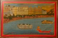 Hand Painted Colored Finest Miniature Art Udaipur Mewar Work detailed exquisite