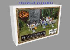 28mm Pegasus Knights, Forgotten Worlds, Fireforge Games  9th Age Fantasy BNIB