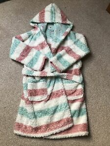 Girls Fat Face dressing gown age 10-11