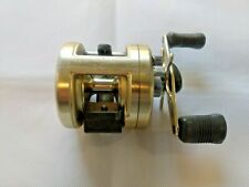 VINTAGE SHIMANO CALCUTTA GOLD 250 BAIT CASTING BASS REEL USED TESTED WORKING