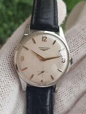 VINTAGE LONGINES 9999-7 MANUAL CAL.30L MENS 35.5mm SWISS MADE JUST SERVICED