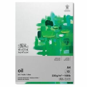 Winsor & Newton Oil Painting Paper Pad A4