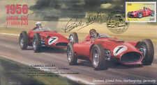 1956d Lancia Ferrari D50 & Maserati, Nurburgring, firmado Carroll Shelby
