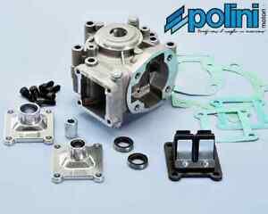 Carter moteur POLINI AV10 MBK 51 MOTOBECANE mobylette pipe clapet cyclo NEUF
