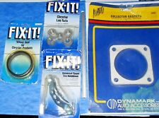 FIX-IT Lot  GM ,Chrysler Lug Nuts ,Collector Gasket ,Wheel Seal Spare Tire Mount