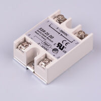 Solid state relay SSR-25DD 25A AC control DC relais 3-32VDC to 5-60VDC SSR 2RCCA