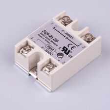 Solid state relay SSR-25DD 25A AC control DC relais 3-32VDC to 5-60VDC SSRFRFR