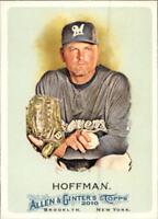 2010 Topps Allen and Ginter Baseball #115 Trevor Hoffman Milwaukee Brewers